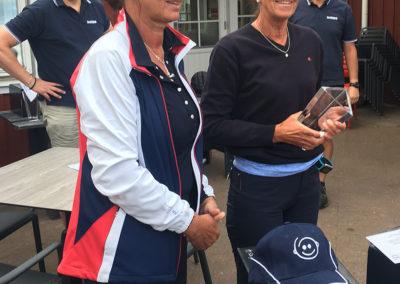 Vinnare i damklassen Volvo Cup 2016