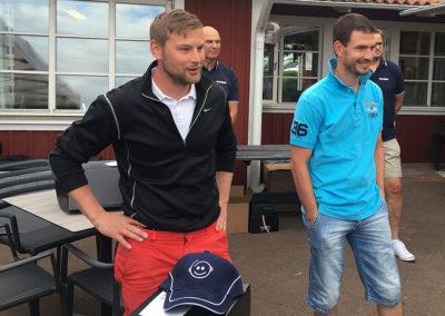 Vinnare i herrklassen Volvo Cup 2016