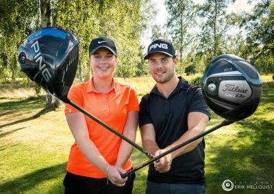 Vinnare Klara och Andreas