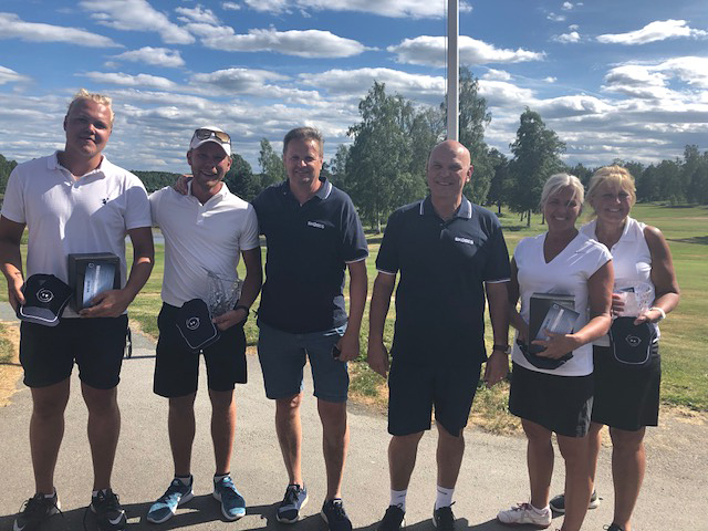 Volvo World Golf Challenge avgjordes på Nationaldagen