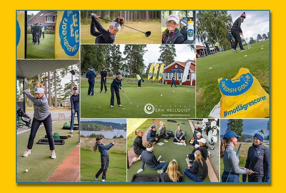 Svenska Golfförbundet hade träningsläger för tjejer