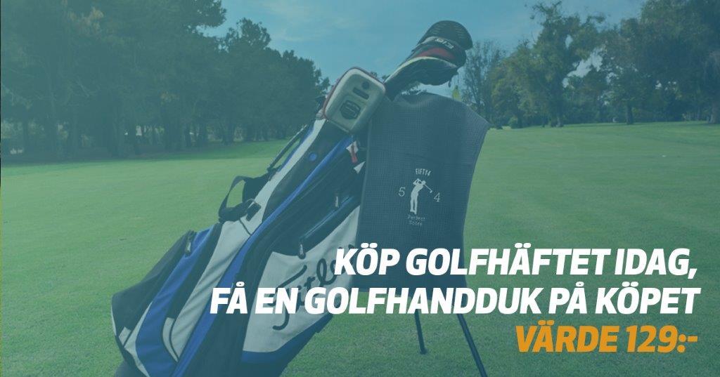 Kampanj – Köp Golfhäftet 2021!