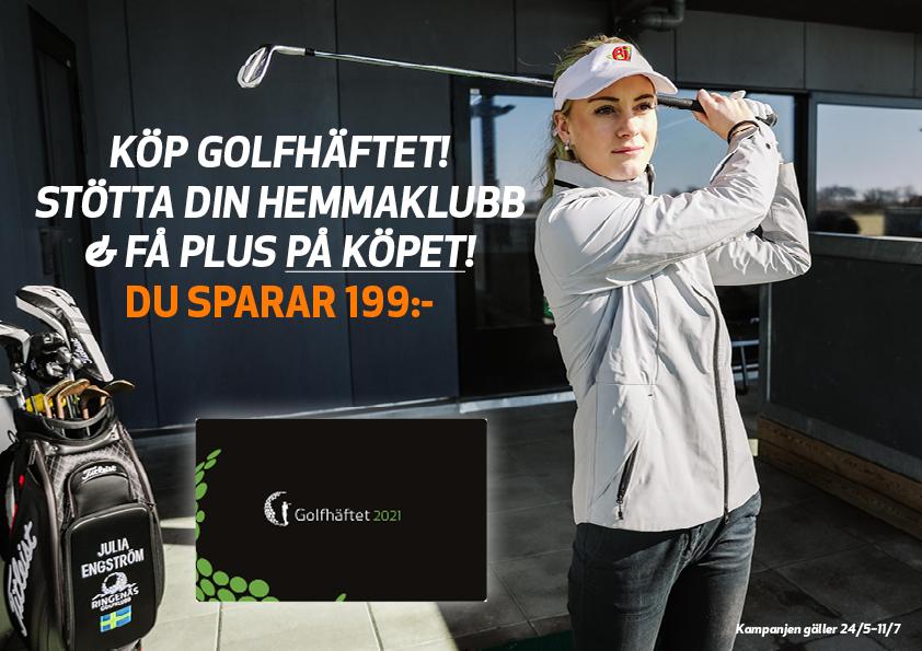 Kampanj på Golfhäftet 2021